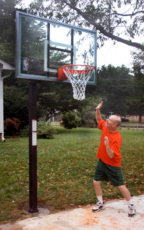 Duck Basketball Goal